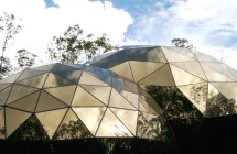 Inhotim geodesic domes