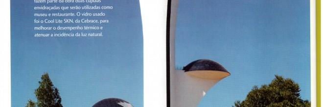 Um marco de modernidade no ponto mais alto de Brasília!