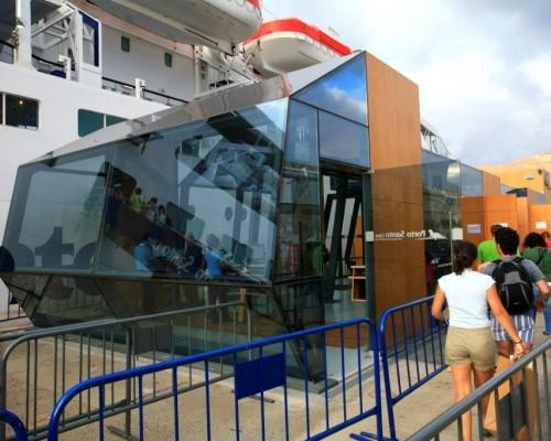 Terminal de passageiros Porto Santo Line